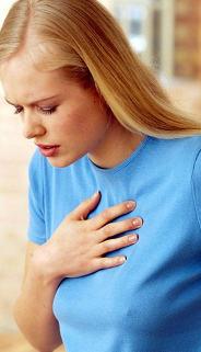 krūtinės skausmas hipertenzija